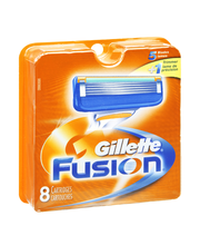Gillette® Fusion® Razor Cartridges 8 ct Carded Pack
