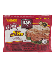 Bar S Deli Shaved Ham Smoked
