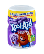 Kool-Aid Grape Drink Mix 19 oz. Canister