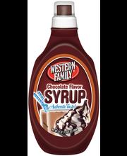 Wf Choc Flavor Syrup