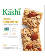 Kashi® Honey Almond Flax Chewy Granola Bars 6-1.2 oz. Wrappers