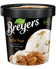 Breyers® Butter Pecan Ice Cream 1 pt. Tub