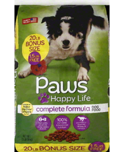 PAWS HAPPY LIFE DRY CMPLT FORM