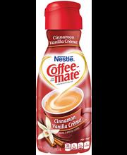 Nestle Coffeemate Cinnamon Vanilla Liquid Coffee Creamer 32 f...