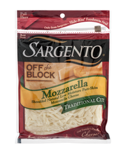 Sargento® Off the Block Mozzarella Traditional Cut Shredded C...