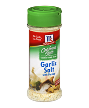 McCormick® California Style Garlic Salt With Parsley, 3.25 oz