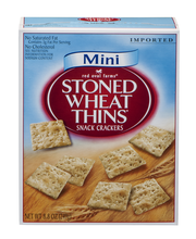 Nabisco Red Oval Farms Mini Stoned Wheat Thins Crackers 8.8 Oz Box