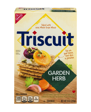 Nabisco Triscuit Garden Herb Crackers 9 oz. Box