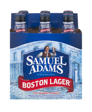 Samuel Adams Boston Lager Beer Bottles - 6 CT
