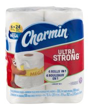 Charmin® Ultra strong™ Toilet Paper 6 ct Pack