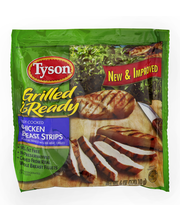 Tyson® Grilled & Ready® Fully Cooked Chicken Breast Strips 6 ...