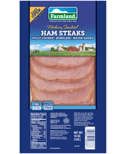 Farmland® Hickory Smoked Ham Steaks 16 oz. Pack