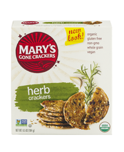 Mary's Gone Crackers Herb Crackers
