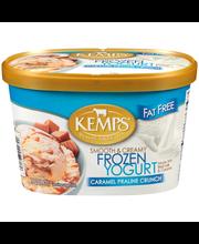 Kemps® Smooth & Creamy Fat Free Caramel Praline Crunch Frozen...