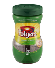 Folgers Classic Decaf Instant Coffee Makes up to 120  6 FL OZ...