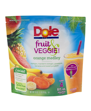 Dole® Fruit Veggie Blends Orange Medley Smoothies 16 oz. Stan...