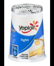Yoplait® Light Fat Free Yogurt Banana Cream Pie 6.0 oz Cup