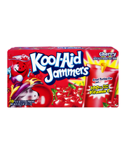 Kool-Aid Jammers Cherry Flavored Drink 10-6 fl. oz. Pouches