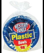 Wf Bowls Plasitc Bi-Color