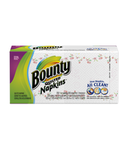 Bounty Paper Napkins, Print, 200 Count