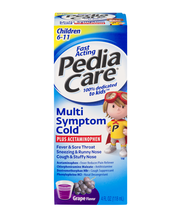 PediaCare Multi-Symptom Cold Plus Acetaminophen Grape Flavor