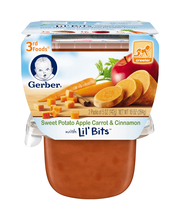 Gerber® 3rd Foods® Sweet Potato Apple Carrot & Cinnamon with ...