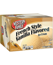 Wf French Vanilla Ice Cream