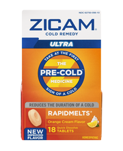 Zicam Cold Remedy Rapidmelts Ultra Quick Dissolve Tablets Ora...
