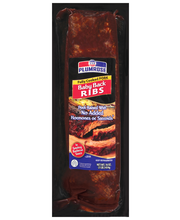 Plumrose W/Smokey Barbecue Sauce Ribs Baby Back 16 Oz Package