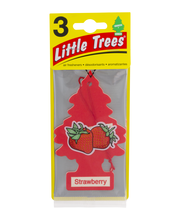 Little Trees Air Fresheners Strawberry - 3 CT