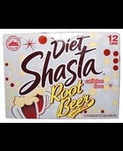 Shasta Diet Rt Beer 12P