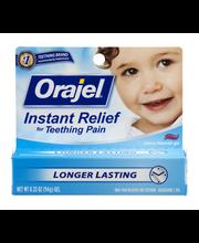 Orajel® Instant Relief for Teething Pain .33 oz gel