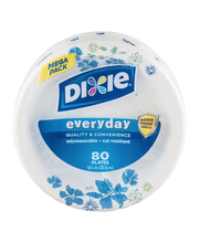 Dixie Everyday Mega Pack 10 1/16 in Plates - 80 CT