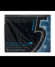 Wrigley's 5 Cobalt Sugarfree Gum- 15 CT