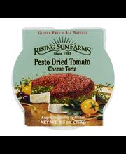Rising Sun Farms Pesto Dried Tomato Cheese Torta