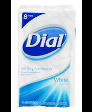 Dial® White Antibacterial Deodorant Soap 8-4 oz. Bars