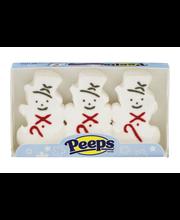 Peeps Marshmallow Snowmen - 3 CT