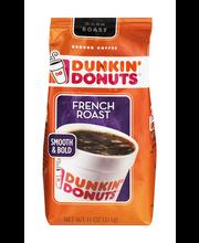 Dunkin' Donuts Ground Coffee French Roast Dark Roast