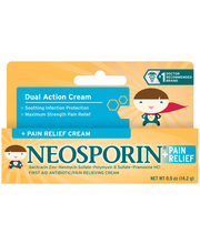 Neosporin® Soothing Infection Protection Cream for Kids with ...