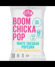 Angie's® Boomchickapop® White Cheddar Popcorn 4.5 oz. Bag