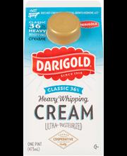Darigold® Classic 36% Heavy Whipping Cream 1 pt. Carton