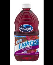 Ocean Spray Light Light Cranberry & Raspberry Juice Drink 64 ...