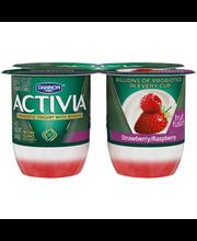 Dannon® Activia® Fruit Fusion Probiotic Lowfat Yogurt Strawbe...
