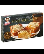 Streusel Cakes