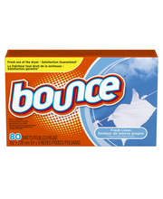 Bounce Fresh Linen Dryer Sheets 80 ct Box