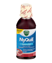 Vicks® NyQuil™ Vanilla Cherry Swirl Cold & Flu Nighttime Reli...