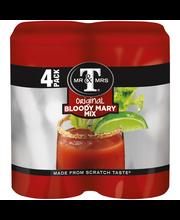 Mr & Mrs T® Original Blood Mary Mix 4-5.5 fl. oz. Cans