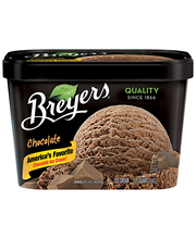 Breyers All Natural Chocolate Ice Cream 1.5 Qt Tub