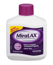 MiraLAX® Unflavored Laxative  Powder 26.9 oz. Bottle