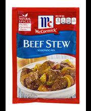 McCormick® Beef Stew Seasoning Mix, 1.5 oz. Packet